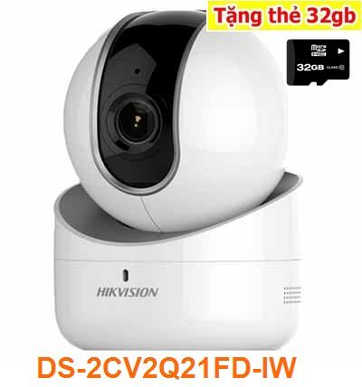 lắp camera wifi xoay 360 hikvision giám sát chất lượng