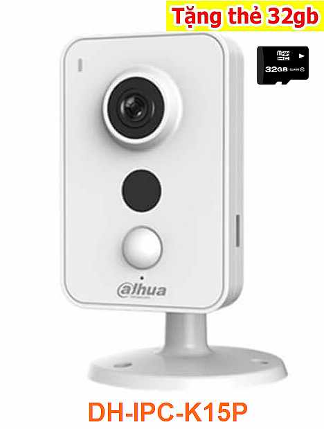 camera quan sát wifi, lắp camera quan sát wifi dahua,Camera IP WIFI DAHUA DH-IPC-K15P , DAHUA DH-IPC-K15P ,IPC-K15P