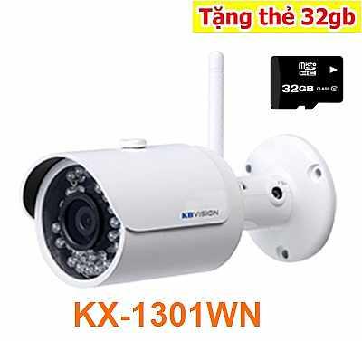 Lắp đặt Camera IP WIFI KBVISION KX-1301WN là dòng camera IP WIFI chất lượng cao siêu nét , KX-1301WN độ phân giải 1.3MP hình ảnh siêu nét giá rẻ, camera mang thương hiệu của mỹ có chất lượng hình ảnh rõ nét, độ bền lâu, phù hợp lắp đặt ở kho xưởng, nhà máy, xí nghiệp,...