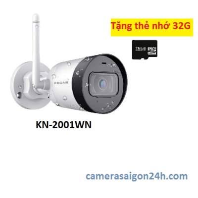 lắp camera kbvision wifi ngoài trời giá rẻ
