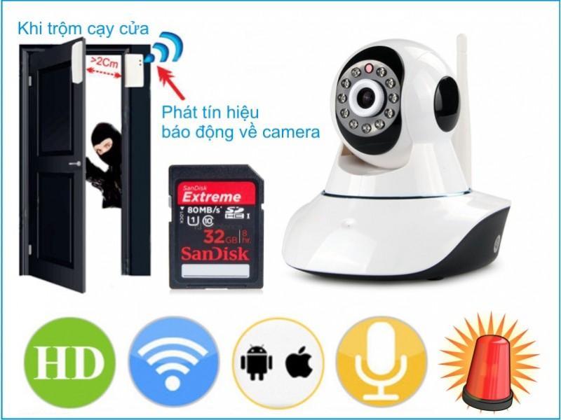 Lắp đặt camera quan sát chống trộm