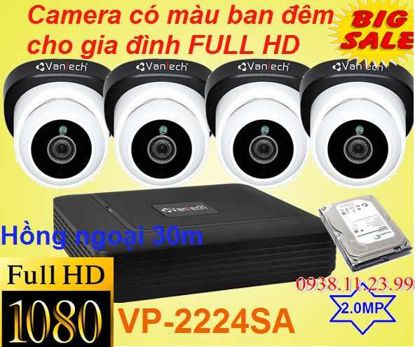 Camera Starlight Có Màu Ban Đêm FULL HD , Camera Starlight , Camera Starlight FULL HD ,Camera Có Màu Ban Đêm FULL HD , vp-2224sa