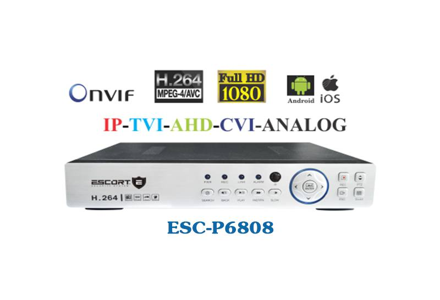 Đầu Ghi ESCORT ESC-P6808, Đầu Ghi ESCORT, ESCORT ESC-P6808, ESCORT ESC, ESC-P6808, P6808