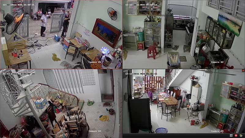 Lắp camera wifi giám sát căn hộ