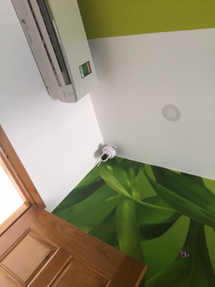 lắp đăt camera quan sát wifi tại nhà khách hàng