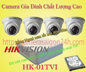 Lắp đặt camera quan sát giá rẻ Camera Quan sát nhà riêng HD