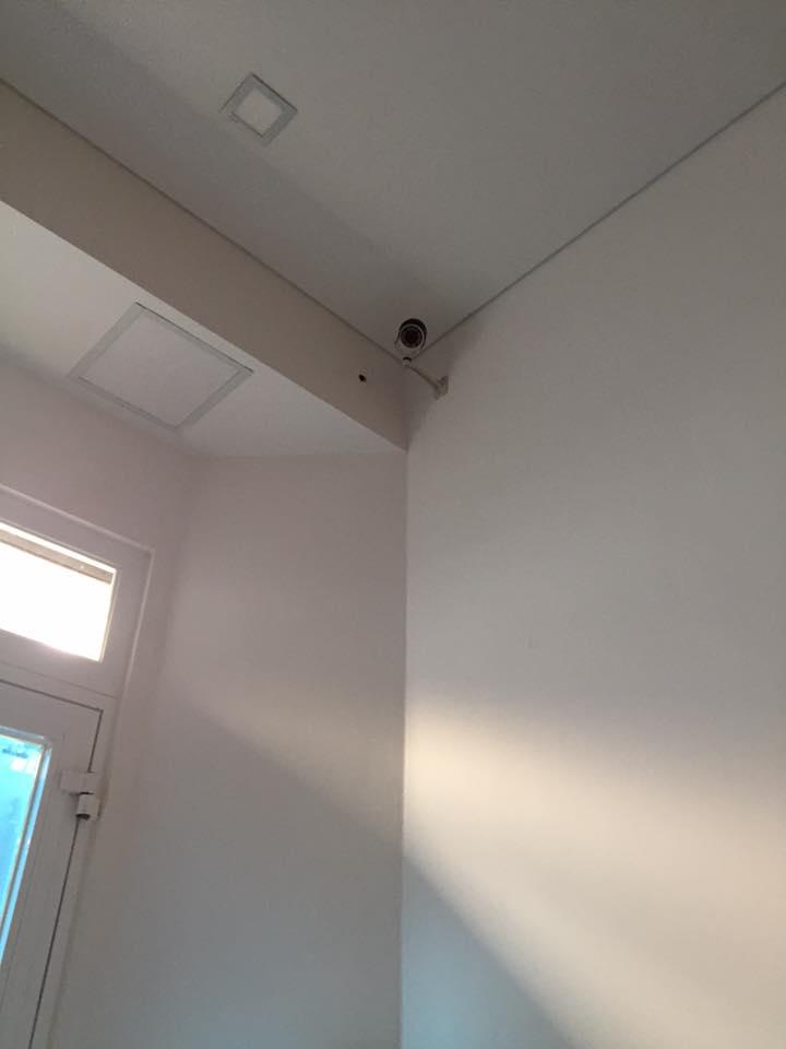 camera hoàn thành công đoạn lắp đặt tại nhà dân