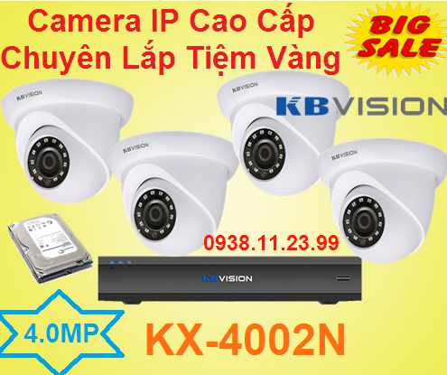 lắp camera quan sát tiêm vàng,Camera IP Cao Cấp Chuyên Lắp Tiệm Vàng , camera ip cao cấp , camera ip siêu nét , KX-4002N , camera IP KX-4002N