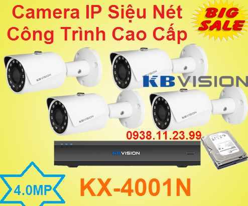lắp quan sát IP Siêu Nét Công Trình Cao Cấp , camera công trình , camera ip công trình , camera KX-4001N , KX-4001N