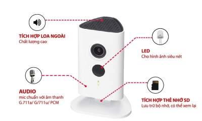 ưu điểm camera wifi không dây và có dây