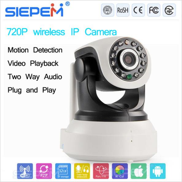 lắp đặt camera wifi báo động chống trộm SIEPEM