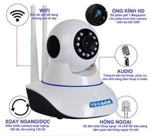 lắp đặt camera quan sát wifi chất lượng tốt dịch vụ tốt