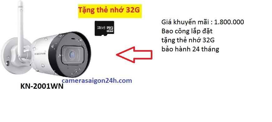 lắp camera quan sát KBone giá rẻ lắp camera wifi giám sát từ xa