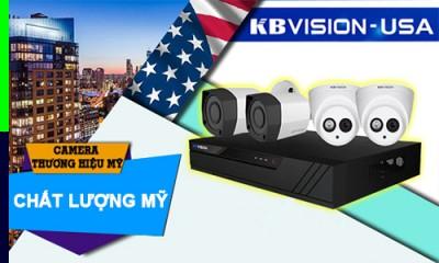 lắp đặt camera quan sát kbvision tương hiệu USA