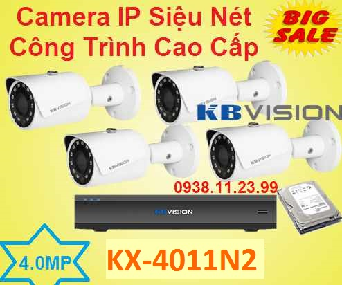 lắp quan sát IP Siêu Nét Công Trình Cao Cấp , camera công trình , camera ip công trình , camera KX-4011N2 , KX-4011N2