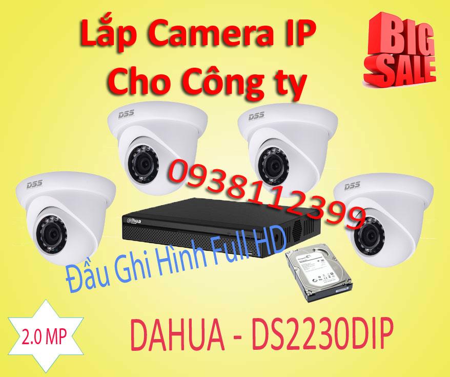 Lắp đặt camera tân phú Lắp Camera Quan Sát IP Cho Công Ty