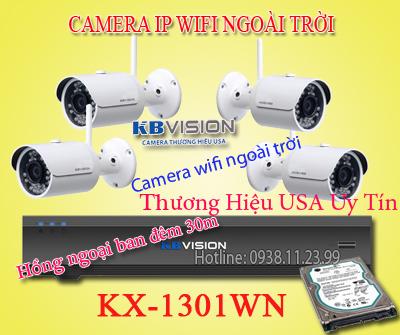 bộ camera quan sát wifi cho kho xưởng
