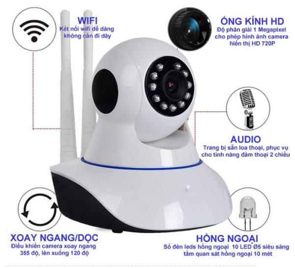 Lắp đặt camera tân phú Lắp Đặt Camera Quan Sát Wifi Giá Rẻ