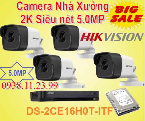 Lắp camera quan sát nhà xưởng,camera nhà xưởng siêu nét , camera nhà xưởng , camera nhà xưởng chât lượng , camera nhà xưởng 5.0mp , camera nhà xưởng DS-2CE16H0T-ITF , camera nhà xưởng giá rẻ