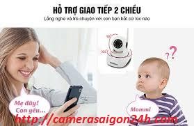 Lắp đặt camera quan sát cho trẻ nhỏ
