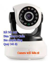camera quan sát wifi hổ trợ báo động hình ảnh đep