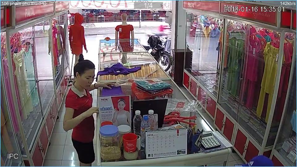 Lắp đặt camera wifi báo động chống trộm cho cửa hàng vào ban đêm