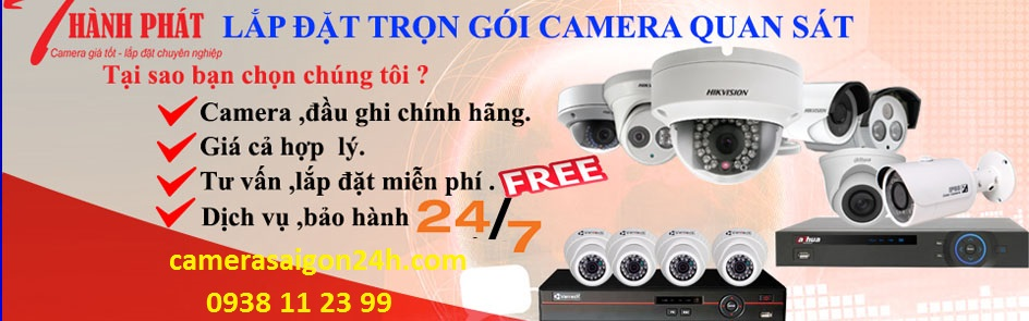 Công ty lắp camera quan sát tại quận 12 giá rẻ