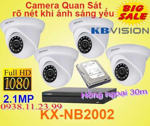 Lắp camera quan sát rõ nét khi ánh sáng yếu , camera night breaker , camera KX-NB2002 , KX-NB2002