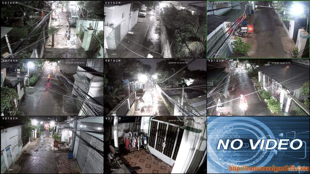 bộ camera quan sát ban đêm công nghệ starlight hình ảnh chất lượng hơn rất nhiều so với hồng ngoại