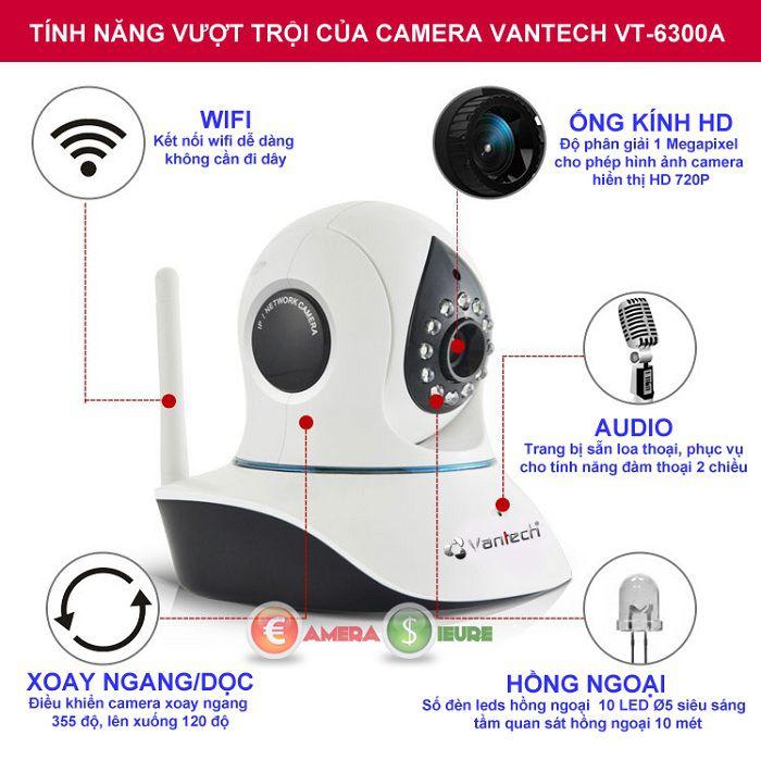 camera quan sát soay 360 thương hiệu Vantech