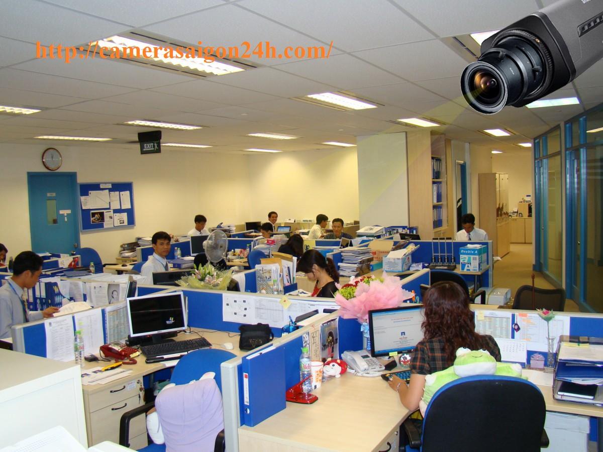 camera quan sát công ty tại văn phòng