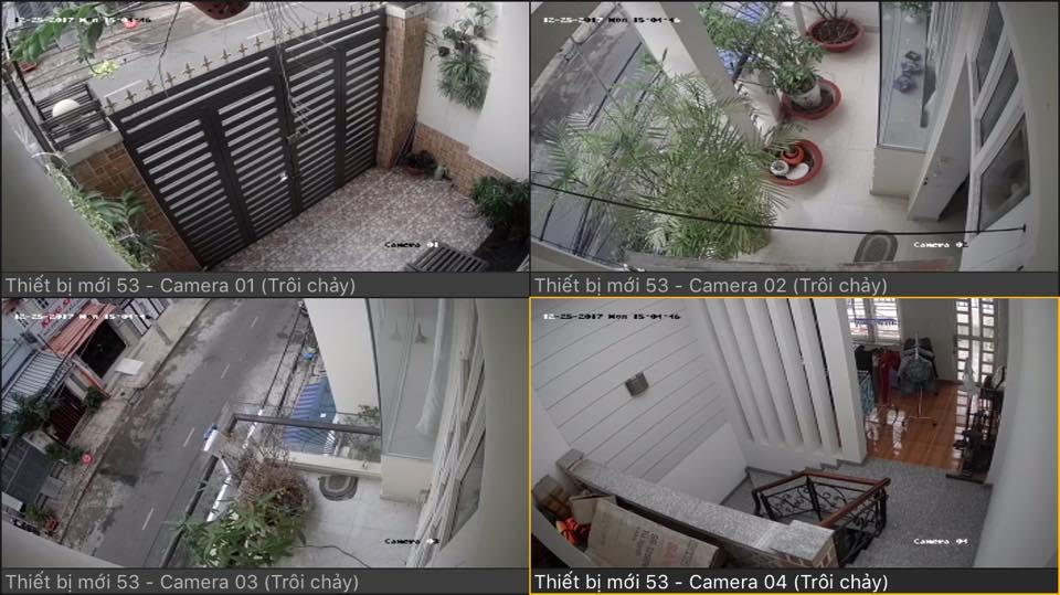 Lắp đặt camera quan sát gia đình hình ảnh HD thương hiệu Vantech