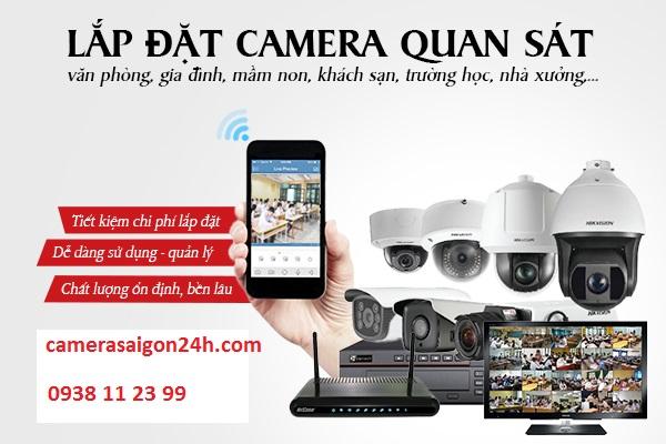 Công ty lắp camera tại quận 1 giá rẻ