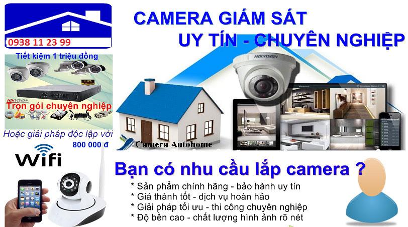 Công ty lắp camera quận Phú Nhuận giá rẻ