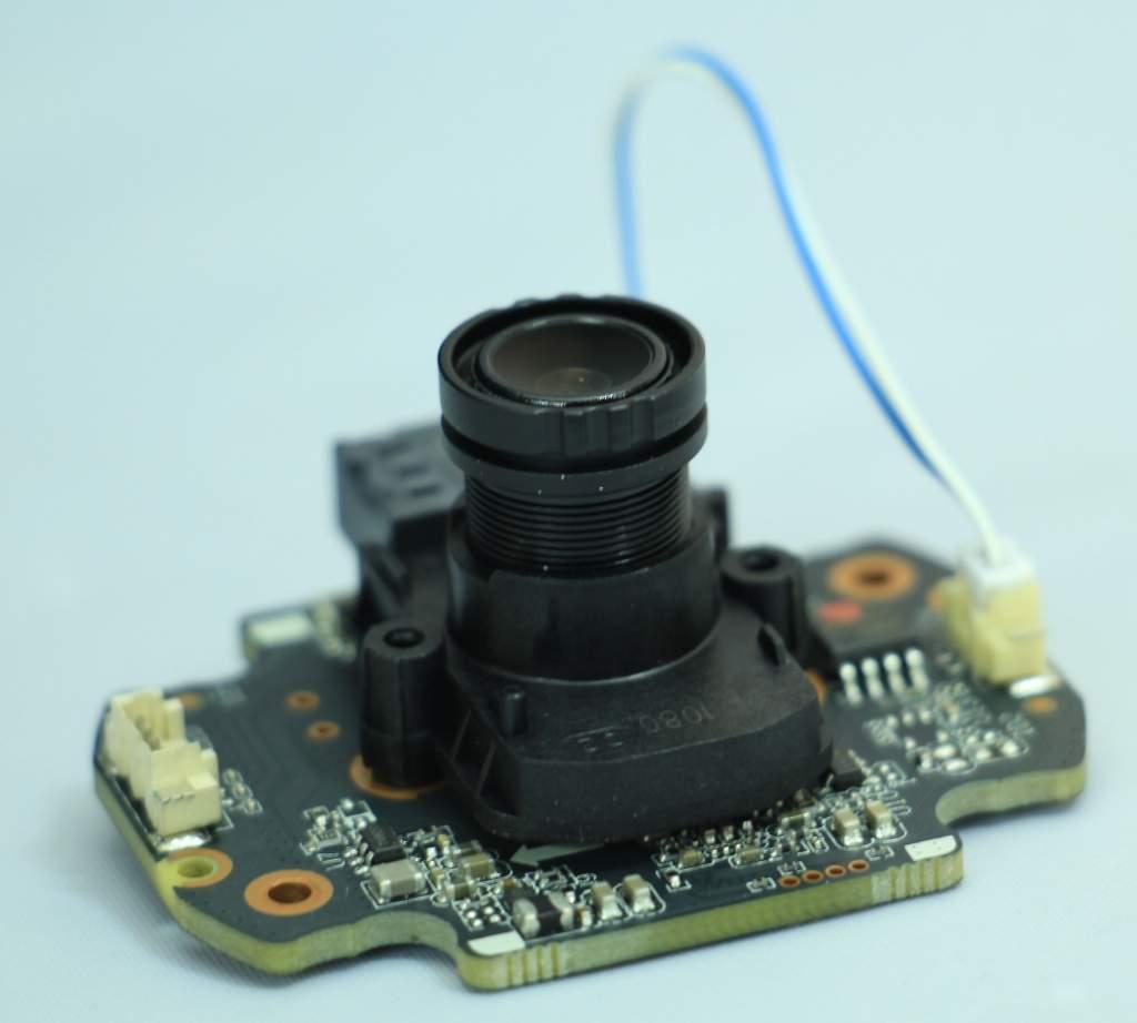cấu trúc của chíp camera cơ bản và cấu thành lên 1 camera quan sát rất đơn giản
