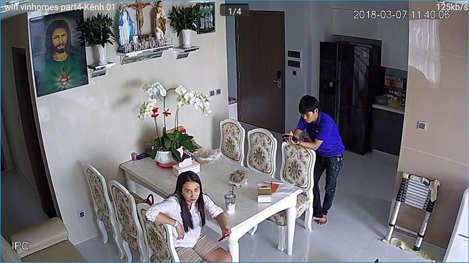 lắp đặt camera wifi báo động chống trộm cho căn hộ chung cư