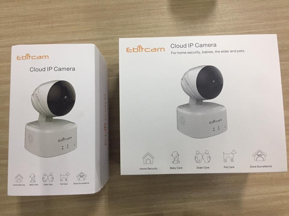 Hướng dẫn cài đặt camera wifi Ebitcam bằng điện thoại