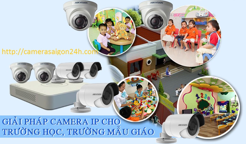 Hệ thống camera cho các nhà trẻ