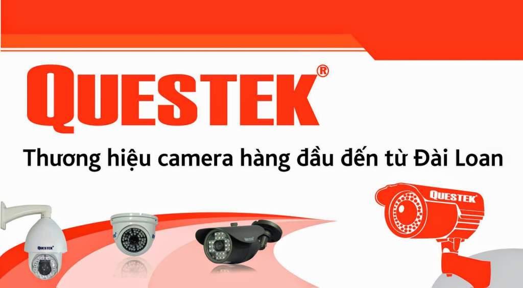lắp đặt camera quan sát chất lượng giá rẻ thương hiệu questek