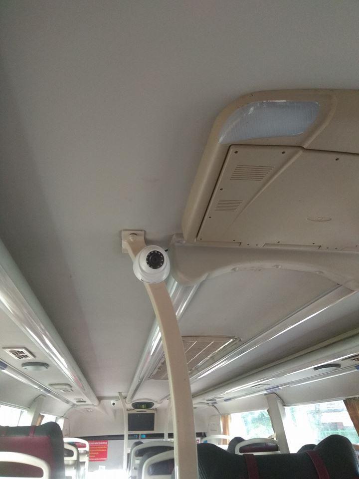 lắp đặt camera giám sát cho xe khách