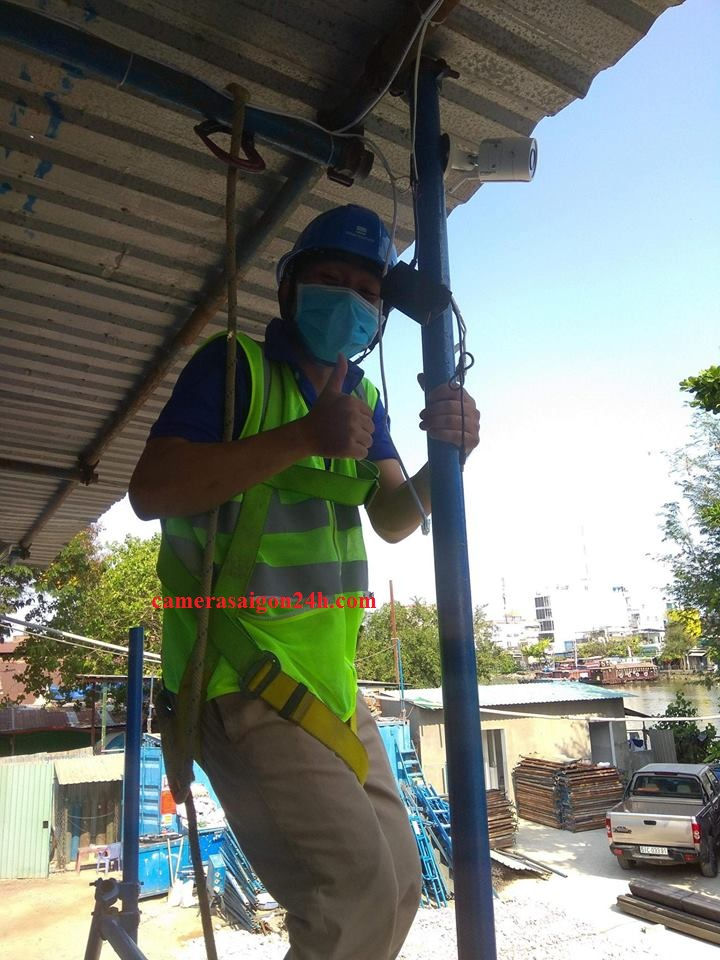 lắp đặt camera quan sát cho công trình nâng cấp cầu đường