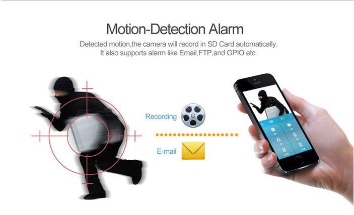 lắp đặt camera wifi báo động chống trộm