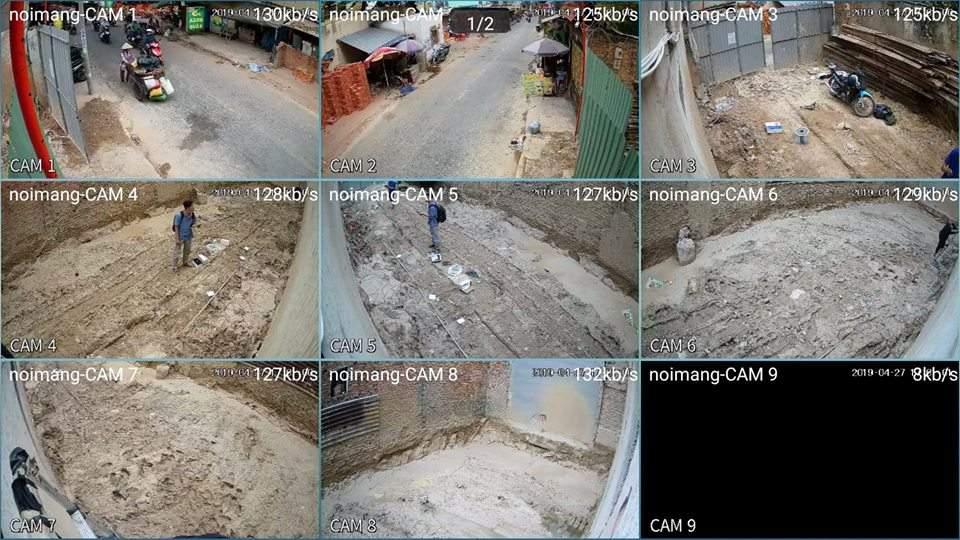 Lắp camera giám sát công trình giá rẻ