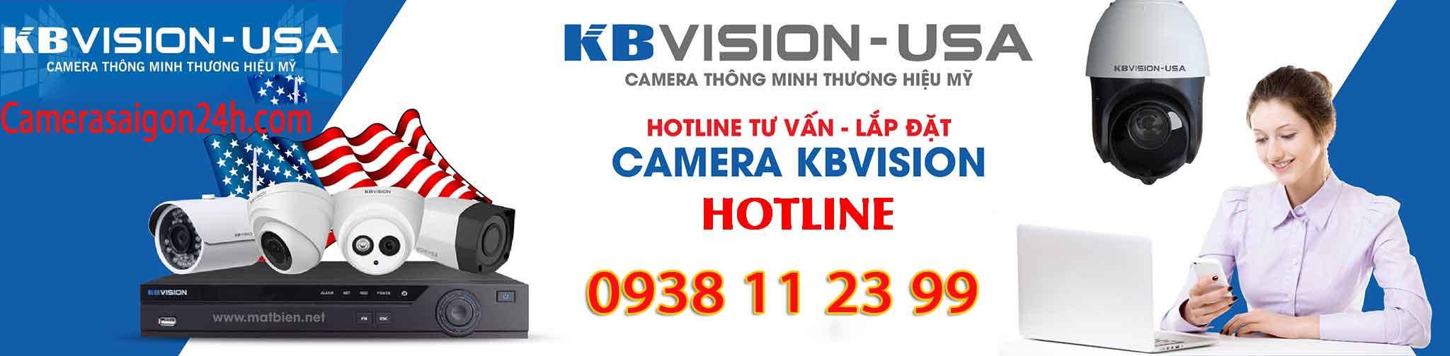 báo giá lắp camera kbvision giá rẻ chất lượng dịch vụ tốt nhất