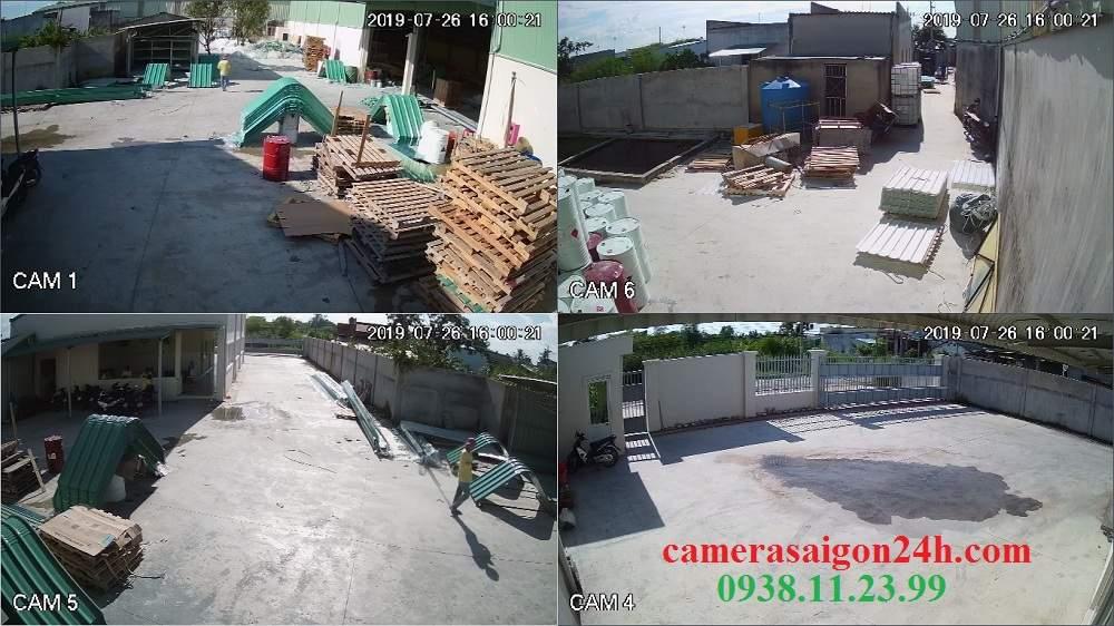 lắp camera quan sát kho xuong kx-2011c4
