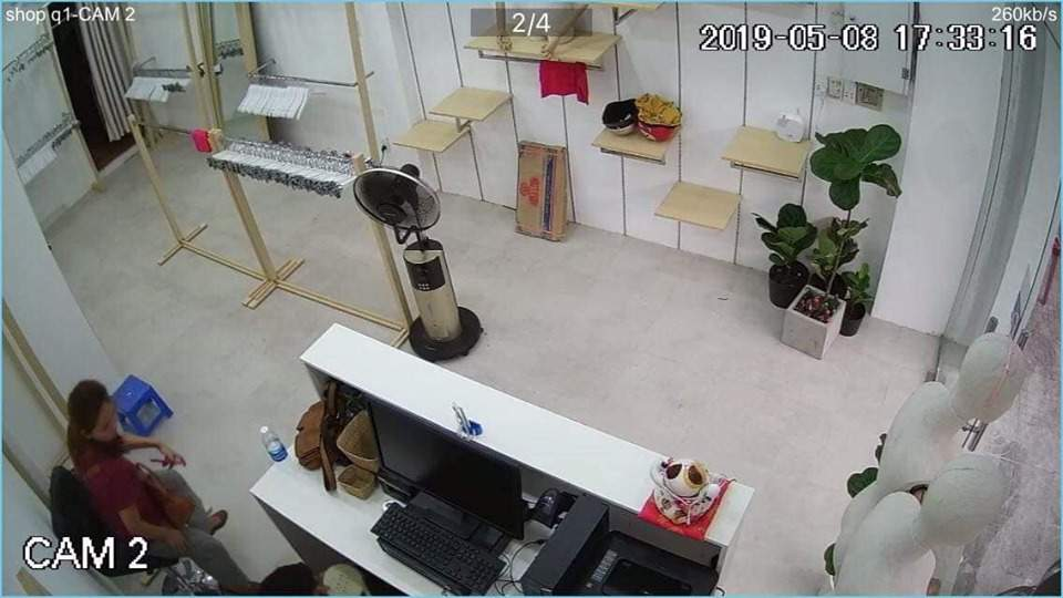 lắp camera wifi kbone KN-2002WN