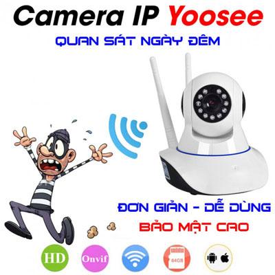 lắp camera ip wifi giá rẻ yoosee camera giám sát xoay 360 giá rẻ giám sát qua điện thoại