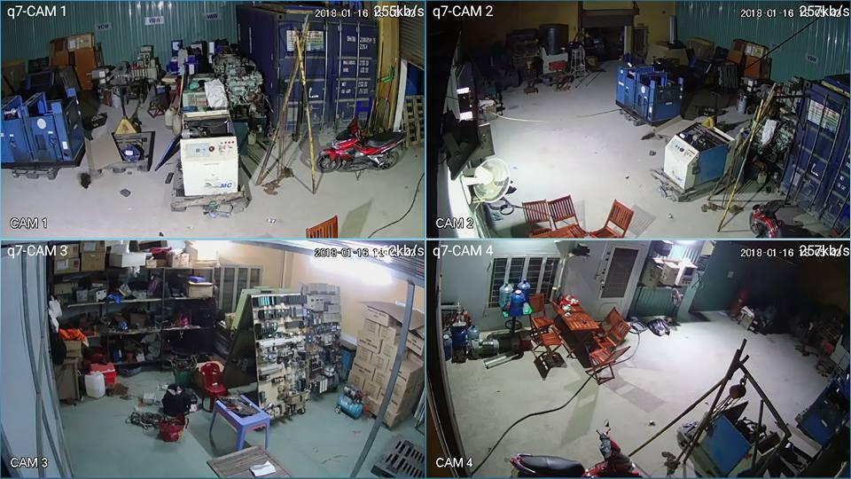 lắp đặt camera quan sát quận 8 cho gia đình sản xuất