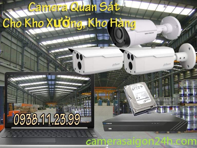 Lắp Đặt Camera Quan Sát Kho Hàng,Kho Xưởng Gía Rẻ