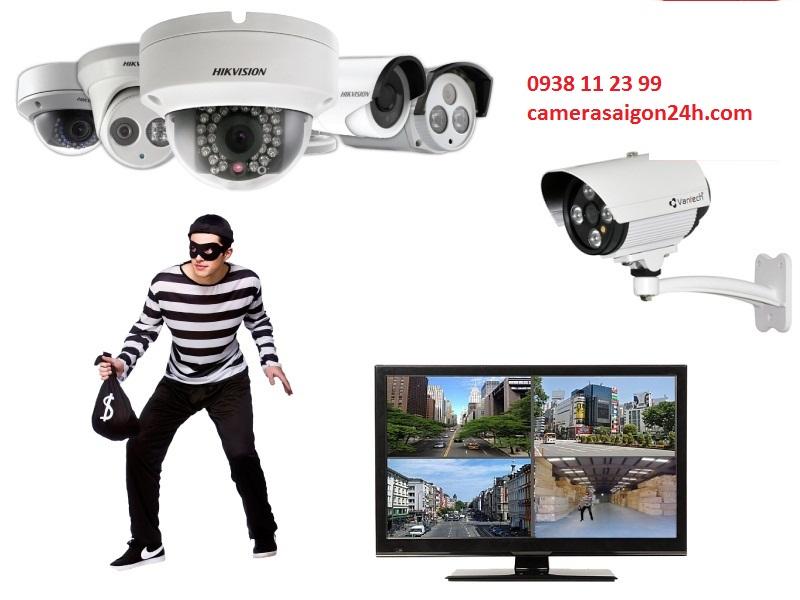 lắp đặt camera quan sát báo động chống trộm